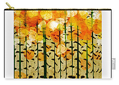 Aspen Colorado Abstract Square 4 Carry-all Pouch