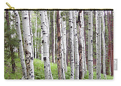 Aspen Forest Carry-all Pouch by Laurel Powell