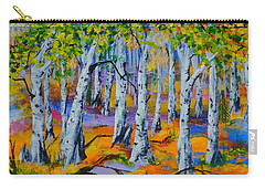 Aspen Friends In Walkerville Carry-all Pouch