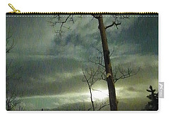 Aspen In Moonlight Carry-all Pouch by Brian Boyle