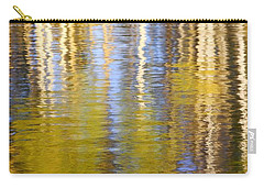 Carry-all Pouch featuring the photograph Aspen Reflection by Kevin Desrosiers