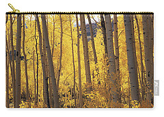 Aspen Trees In Autumn, Colorado, Usa Carry-all Pouch