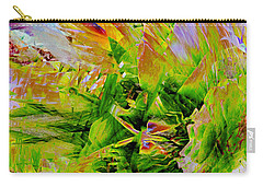 Aspidistral Butterfly Carry-all Pouch by Stephanie Grant