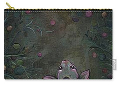 Aspiration Of The Koi Carry-all Pouch by Shadia Derbyshire