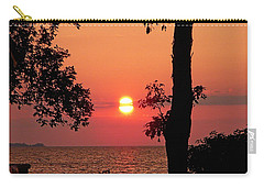 Carry-all Pouch featuring the photograph Association Island Sunset by Aimee L Maher Photography and Art Visit ALMGallerydotcom