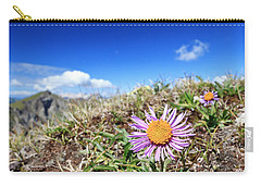 Aster Alpinus Carry-all Pouch