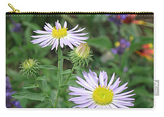 Asters In Close-up Carry-all Pouch