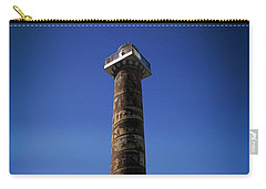 Carry-all Pouch featuring the photograph Astoria Column 1926 by Aaron Berg