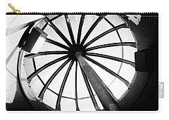 Carry-all Pouch featuring the photograph Astoria Column Dome by Aaron Berg