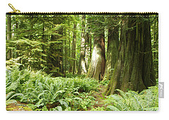 At Cathedral Grove Carry-all Pouch