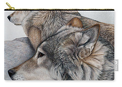 At Rest But Ever Vigilant Carry-all Pouch by Pat Erickson