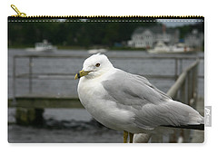 Carry-all Pouch featuring the photograph At The Boat Landing by Denyse Duhaime