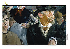 At The Cafe Concert Carry-all Pouch by Edouard Manet
