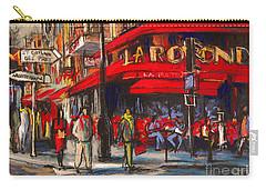 At The Cafe De La Rotonde Paris Carry-all Pouch