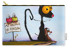 At The Edge Of Reason Carry-all Pouch