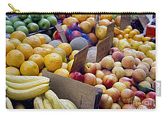 At The Market Carry-all Pouch by Jon Neidert