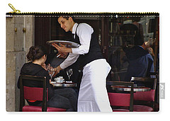 Carry-all Pouch featuring the photograph At Your Service by Ira Shander