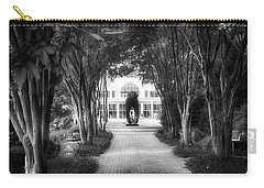 Atlanta Botanical Garden-black And White Carry-all Pouch