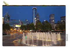 Atlanta By Night Carry-all Pouch