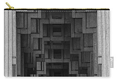 Atlanta Ga Architecture-city Building Carry-all Pouch