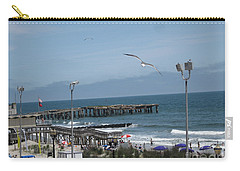 Atlantic City 2009 Carry-all Pouch by HEVi FineArt
