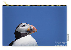 Atlantic Puffin In Breeding Colors Carry-all Pouch by Yva Momatiuk and John Eastcott