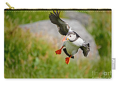 Atlantic Puffin, Incoming.... Carry-all Pouch