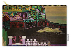 Carry-all Pouch featuring the painting Atlantis by Barbara St Jean