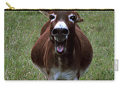 Carry-all Pouch featuring the photograph Attack by Peter Piatt