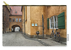 Carry-all Pouch featuring the photograph Augsburg Germany by Paul Fearn