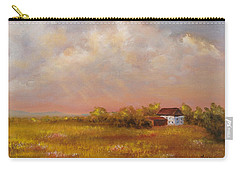 Carry-all Pouch featuring the painting August Afternoon Pa by Katalin Luczay