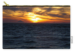 Carry-all Pouch featuring the photograph Augustine Sleeps by Jeremy Rhoades