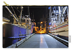 Carry-all Pouch featuring the photograph Auke Bay By Night by Cathy Mahnke