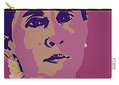 Aung San Suu Kyi Carry-all Pouch by Jean luc Comperat