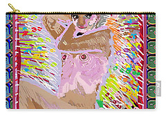 Aura Art Effect Of Love In Heart Showering Sparkle Colors Navin Joshi Rights Managed Images Graphic  Carry-all Pouch