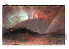 Aurora Borealis By Frederick Edwin Church Carry-all Pouch