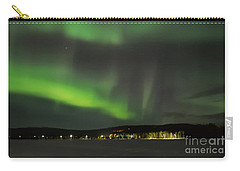 Aurora Borealis Carry-all Pouch by IPics Photography
