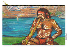 Carry-all Pouch featuring the painting Aussie Dream I by Xueling Zou