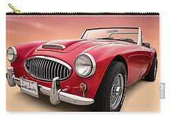 Austin Healey Carry-all Pouch by Douglas Pittman