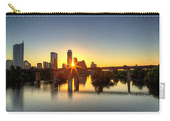 Austin Sunrise Carry-all Pouch by Dave Files