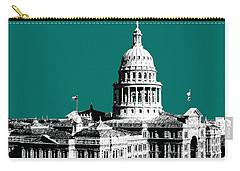 Austin Texas Capital - Sea Green Carry-all Pouch
