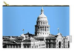 Austin Texas Capital - Sky Blue Carry-all Pouch
