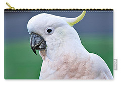Australian Birds - Cockatoo Carry-all Pouch by Kaye Menner