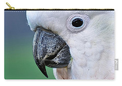 Australian Birds - Cockatoo Up Close Carry-all Pouch by Kaye Menner