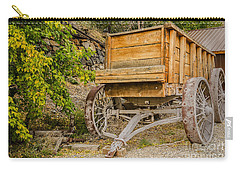Authentic Ore Wagon Carry-all Pouch by Sue Smith