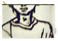 Autographed Drawing Carry-all Pouch