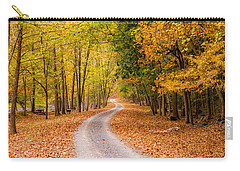 Autum Path Carry-all Pouch by Melinda Ledsome