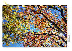 Autumn Afternoon Carry-all Pouch by Cricket Hackmann