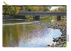 Autumn Along The Fox River Carry-all Pouch