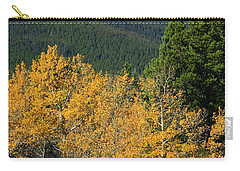 Autumn Aspens And Longs Peak Carry-all Pouch by James BO  Insogna